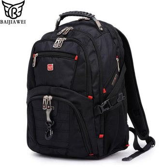 BAIJIAWEI Men and Women Laptop Backpack Mochila Masculina 15 Inch Backpacks Luggage & Men's Travel Bags Male Large Capacity Bag - On Trends Avenue