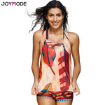 3 Pieces Athletic Swimwear Sports Swimsuit Set with Boyshort Splice Tankini Plus Size Bathing Suits - On Trends Avenue