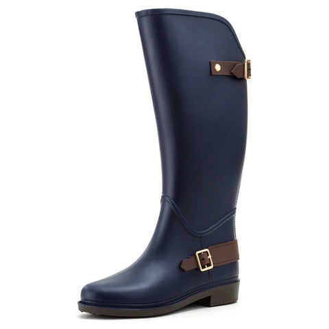 H brand Horse Riding Gumboots Rain boots equitacion shoes chanclo  Women Rain Botte De Pluie Stivali Donna Wellies - On Trends Avenue
