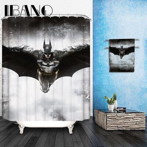 Marvel Shower Curtains Pattern Customized Shower Curtain Waterproof Bathroom Fabric 165x180cm Shower Curtain For Bathroom - On Trends Avenue