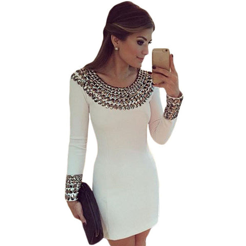 Sexy Cleopatra Bodycon Elegant Dress - On Trends Avenue