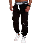 Brand Men Pants Hip Hop Harem Joggers Pants 2017 Male Trousers Mens Joggers Solid Pants Sweatpants - On Trends Avenue