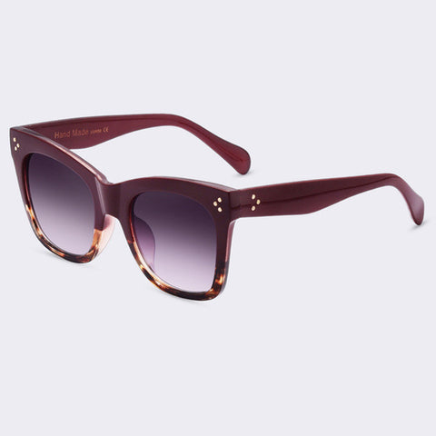 Winla Fashion Sunglasses Women Popular Brand Designer Luxury Sunglasses Lady Summer Style Sun Glasses Female Rivet Shades UV400 - On Trends Avenue