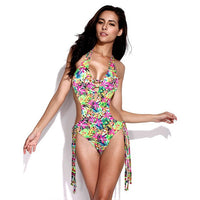 2017 Summer New Arrival Swimsuit Style Floral Bikini With Removable Padding Swimsuit Biquini Women Swimwears Bathing Suit - On Trends Avenue