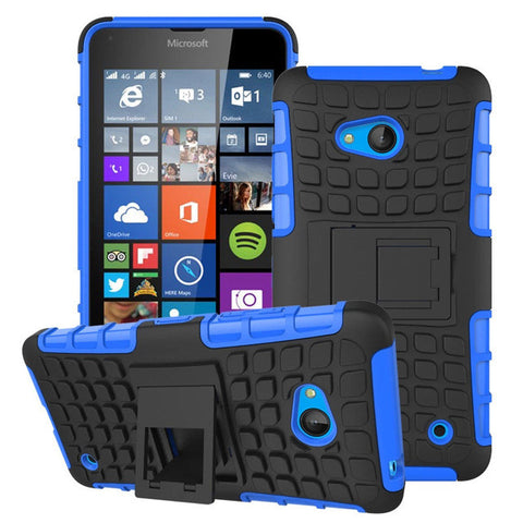 Luxury Hybrid TPU Shock Proof Silicone + Hard Shell Cell Phone Case Cover For Microsoft Lumia 640 Lte Dual Sim Case Back Cover - On Trends Avenue