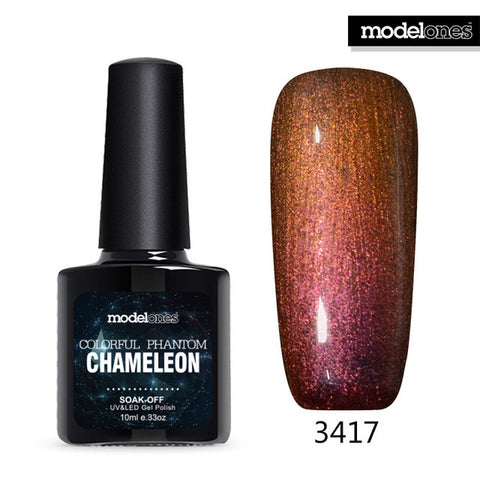 Modelones 1Pcs New Arrival Colorful Phantom Chameleon 10ml UV LED Nail Gel Choose Any 1 Color Soak Off UV Nail Polish - On Trends Avenue