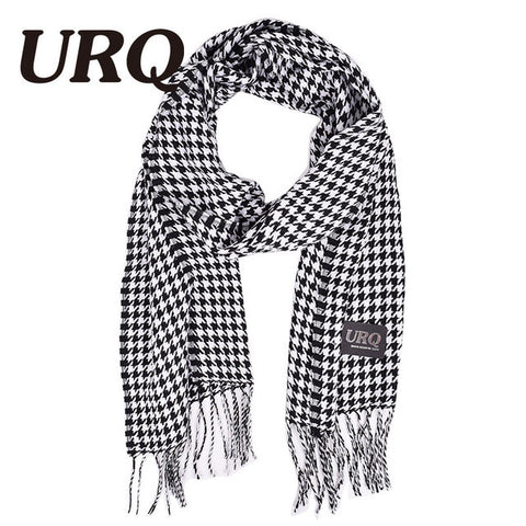 autumn and winter female male houndstooth man scarves cape all-match design long plaid scarves A3A17657 Autumn - On Trends Avenue