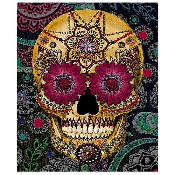 150*180cm Skull Shower Curtains Living Room Bathing Curtains With 12 Hooks Polyester Shower Curtain - On Trends Avenue