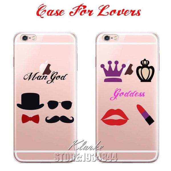 Unique Design Best Friend Case Cover For iphone 5 5s SE 6 6S Plus Transparent Silicone Cell Phone Cases - On Trends Avenue