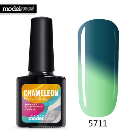 Modelones 10ml Chameleon Temperature Changing Color Nail gel polish 21 colors UV gel Soak-off  UV gel polish  varnish - On Trends Avenue