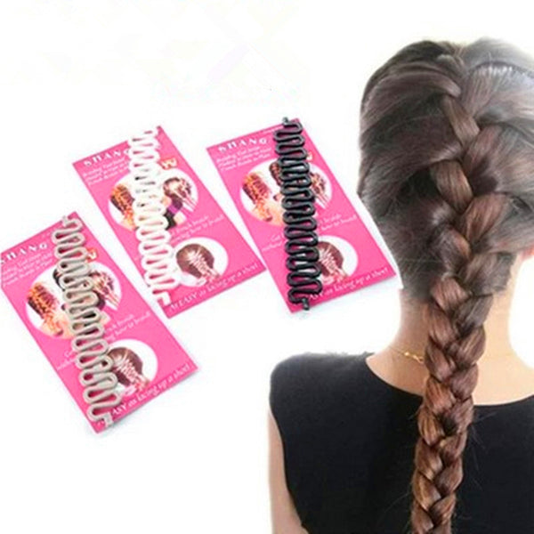 Fashion Bride Hair Accessories Roller Hair Styling Tools Weave Braid Hair Braider Tool Twist Bun Maker Hair Roller Accessories - On Trends Avenue