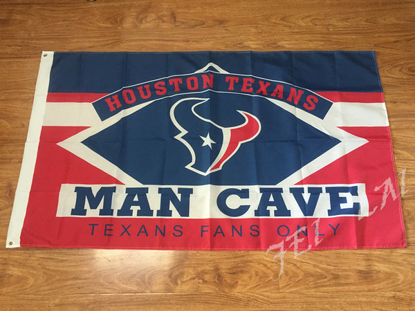 3X5FT houston texans man cave flag Digital printing banner - On Trends Avenue