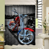Shower Curtains Fashion  Beautiful Bathroom Products High Quality Waterproof Shower Curtain MK-193 - On Trends Avenue