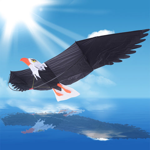 Kite Toy Outdoor Fun Sports 3D Eagle Bird Kite Kid Family Travel Tour Suburb Camping With Flying Tools - On Trends Avenue