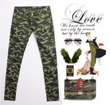 2019 New Ultra Stretch Skinny Jeans Women Military Camouflage Pants Uniform Capris Pants Feet Pencil Denim Jeans Trousers - On Trends Avenue