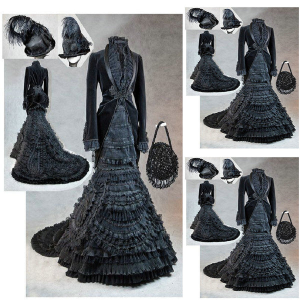 History!Customer-made 17 Century Vintage Costumes Renaissance Dress Steampunk dresses Gothic Cosplay Halloween Dresses C-1219 - On Trends Avenue