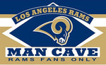 3X5FT LOS ANGELES RAMS man cave flag Digital printing banner - On Trends Avenue