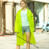 6 Colors EVA Women Raincoat Hooded Poncho Waterproof Rain Coat Fashion Rainwear - On Trends Avenue