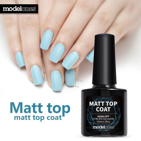 Modelones Hot Matte Top Coat UV Nail Gel Long Lasting Gel Polish Matt Matte Coat Nail Gel Polish DIY Nail Art Style Gel Top Coat - On Trends Avenue