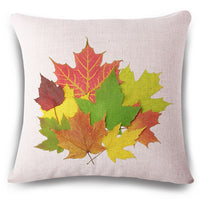 18'' Square Cushion Cover Red Maple Leaf	Pillow Covers Decorative Home Decor Cushion Covers Decorative Pillows for Sofa - On Trends Avenue