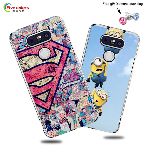 Hot Selling!! 22 Styles Colored Painting Hard Plastic Case For LG G5 Cell phone Case Cover For LG G5 Mobile Phone Bags & Cases - On Trends Avenue