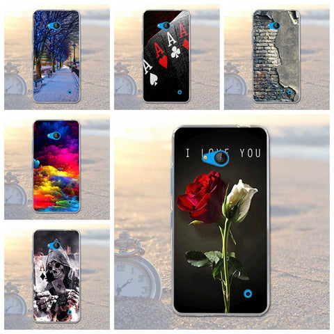 for Nokia 640 Landscape Case Cover for Nokia Microsoft Lumia 640 Silicone Cell Phone Case Soft TPU Shell for lumia 640 Nokia 640 - On Trends Avenue