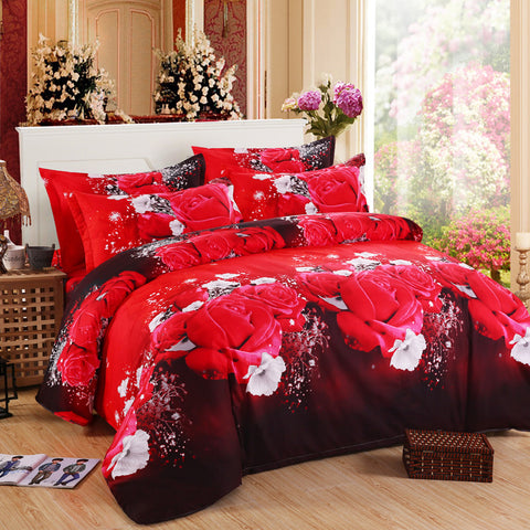 3d bedding sets Butterfly Marilyn Monroe Leopard rose bedclothes duvet cover sheet Queen king twin panda bedspread bed linen - On Trends Avenue