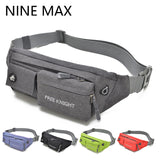 Fashion Multifunctional Nylon Waterproof Belt Waist Bag Colorful Walking Women Men Travel Fanny Pack Shoulder Bum Bags - On Trends Avenue