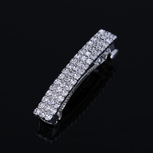 4 Sizes Gorgeous Rhinestone Crystal Hair Clip Barrette Womens Fashion Jewelry Hair Accessories Drop Shipping NEW 2017 - On Trends Avenue