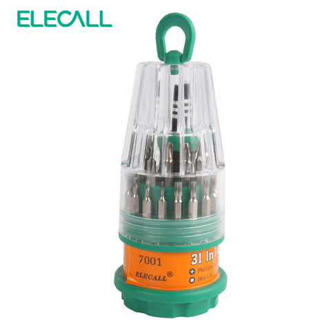 ELECALL 31 In1 Multifunction Screwdriver Set  Multitool Kit Torx Screw Driver Kit Repairing Tools - On Trends Avenue