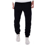 2017 New Design Casual Men Pants Cotton Slim Pencil Pants Fashion And Leisure Khaki Black Pants Men Joggers Pantalon Homme XXXL - On Trends Avenue