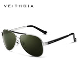2017 VEITHDIA Brand New Polarizerd Sunglasses Men Glass Mirror Green Lense Vintage Sun Glasses Eyewear Accessories Oculos 3152 - On Trends Avenue