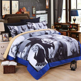 3D Marilyn Monroe beddings set single Queen King size be sheet bed linen unique cotton duvet covert and classic movie star - On Trends Avenue
