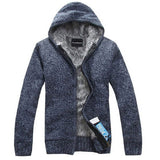 2017 Fur Inside Thick & Winter Warm Jackets Hoodies Hodded Men's Casual 5 Color Thick Hot Sale Sweatshirt - On Trends Avenue