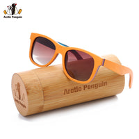 AP Fashion Skateboard Wayfarer Sunglasses Women Brand Designer Polarized Sunglasses For Men Handmade Wooden Fishing Eyewear - On Trends Avenue