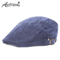 [AETRENDS] 2017 Autumn Winter Men's Vintage Cap Berets Newsboy Caps Z-5250 - On Trends Avenue