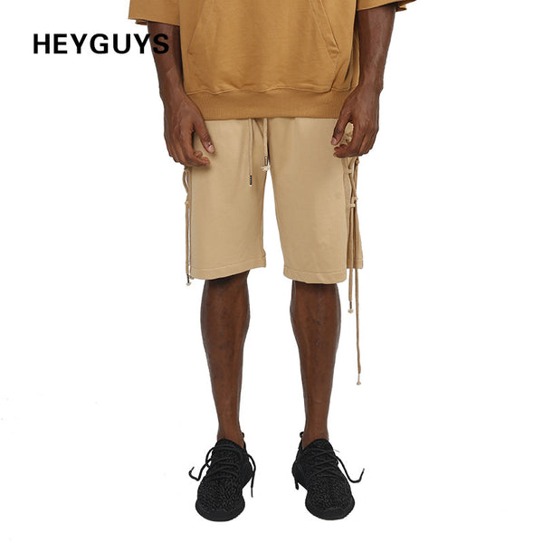 HEYGUYS 2017 sweater Mens Shorts Brand New kaiki Shorts Men Cotton Loose Work Casual Short Pants Plus Size hip hop street - On Trends Avenue