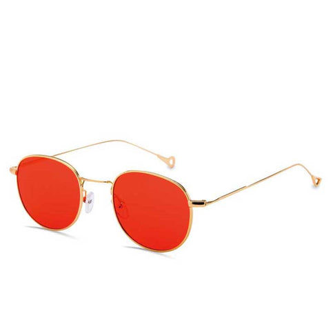 2017 Newest Retro Sunglasses Women Men Brand Design Clear lens Sunglasses woman Red Green Yellow Ocean lens Sunglasses  UV400 - On Trends Avenue
