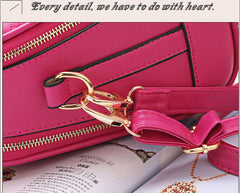 Two Zipper Women Crossbody Bags For Women Small Handbags Leather Famous Brand Fashion Women Messenger Shoulder Bag 505 - On Trends Avenue