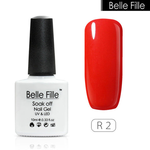 10ml Soak Off  Gel UV Gel nail polish Red Color Gel Varnishes Nail Glue Gelpolish Matte gel Lak nails tools - On Trends Avenue