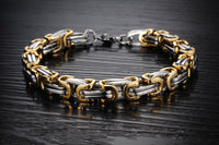 Classic Design Punk 316L Stainless Steel Bracelet Special Biker Bicycle Motorcycle Chain For Mens Bracelets & Bangles - On Trends Avenue