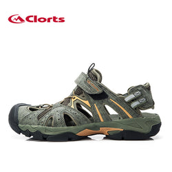Clorts Men Aqua Shoes Beach Sandals Quick Dry Summer Outdoor Shoes PU Water Shoes SD-207B/C