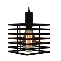 LOFT pendant light Bar restaurant aisle stairs personality wrought iron hanging lamp suspension luminaire vintage Lamps lighting - On Trends Avenue