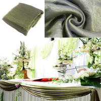 5M*1.35M Sheer Organza Swag Fabric wedding decoration,factory price with best service for custom ,the most beautiful - On Trends Avenue