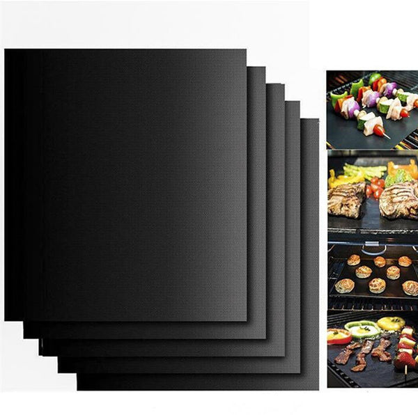 40*33cm Reusable Barbecue Non Stick grill mats sheet cooking baking Carpet for frying bbq Roast Outdoor Picnic grill mat - On Trends Avenue