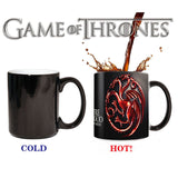 Drop shipping New Arrival Game Of Thrones mugs Series Magic color changing mugs cup Tea coffee mug cup - On Trends Avenue