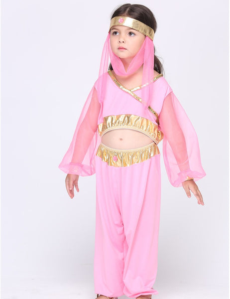 MOONIGHT Children Pink Egyptian Cleopatra Halloween Costumes Cosplay Girls Costume Egyptian Princess Party Costume - On  sc 1 st  On Trends Avenue & MOONIGHT Children Pink Egyptian Cleopatra Halloween Costumes Cosplay ...