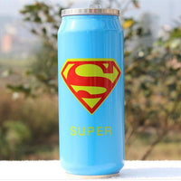 Heros League Termos Straw Thermos Travel Coffee Mugs 300 500ml Stainless Steel Beverage Can Water Tea Thermocup Garrafa Termica - On Trends Avenue