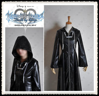Adult Halloween costumes kingdom hearts II cosplay costumes for men faux Leather jacket trench coat full set custom made - On Trends Avenue
