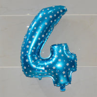 32 inch Large Aluminum Foil Number Balloons Helium Inflable Digital Air Balloons Wedding Birthday Party Decoration Supplies - On Trends Avenue